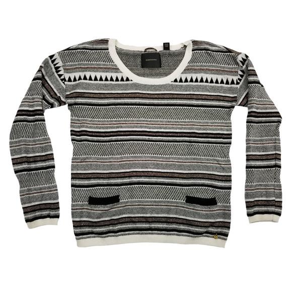 7b8688eac Scotch & Soda Sweaters   Maison Scotch Soda 4 Xl Striped Sweater ...